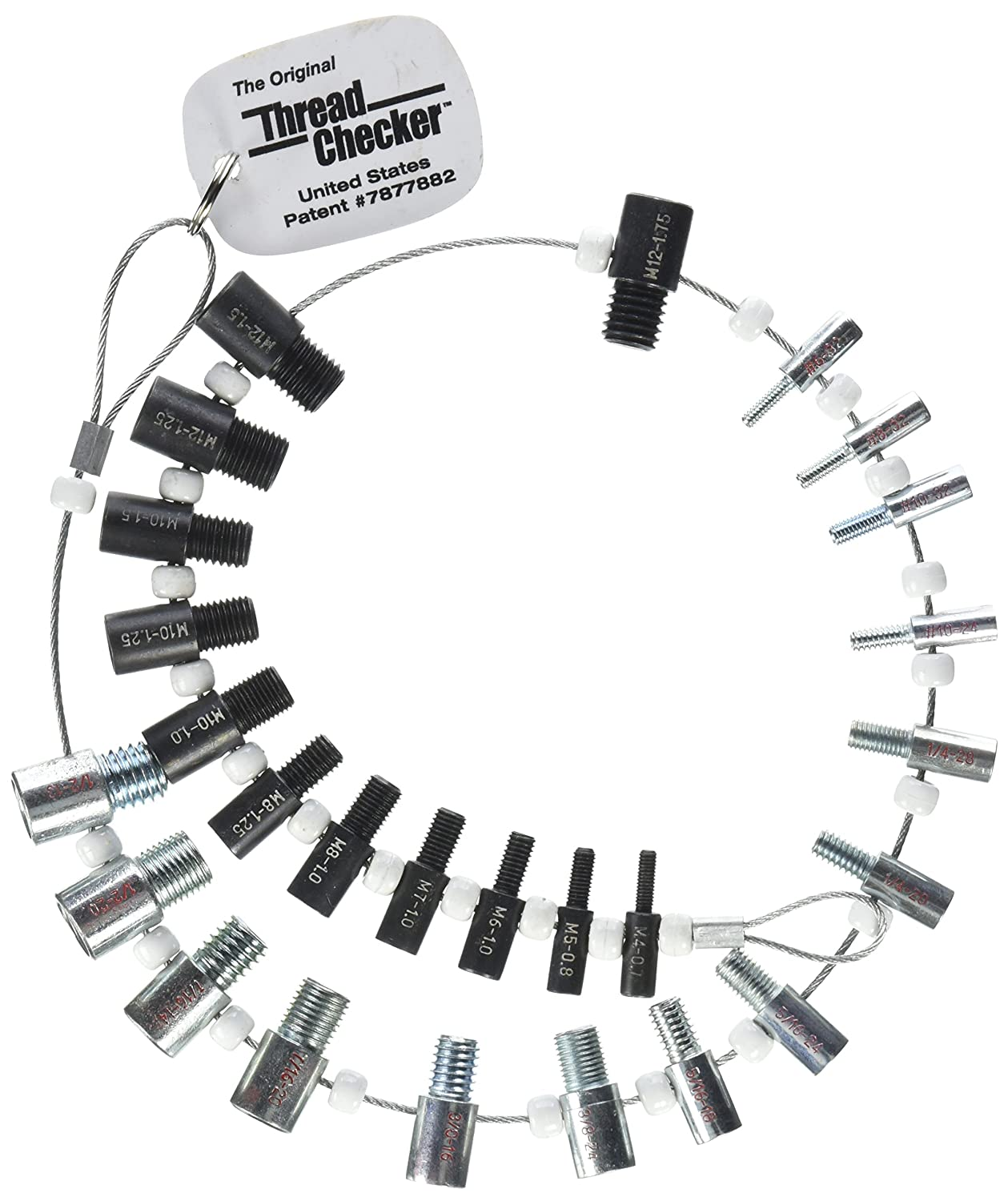 Nut Bolt Thread Checker Inch Metric Tap And Die Sets Help Wiring Up An Electric Fan