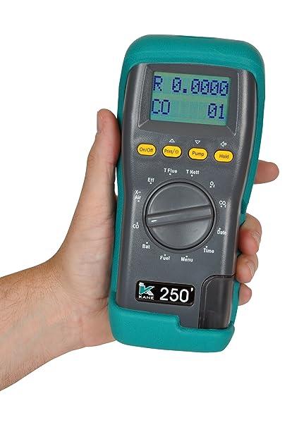Kane 250 - Analizador de gases de combustión
