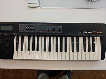 Roland Sk-88 Pro version teclado del modulo de sonido SC-88 Pro: Amazon.es: Instrumentos musicales