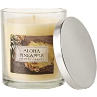DII Z02108 Single Wick Evenly Burning Highly Scented Jar Candle, 8 oz Each, Aloha Pineapple