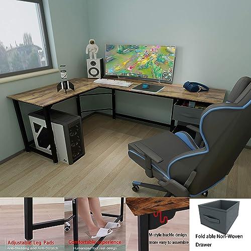 Reviewed: SZXKT Reversible L Shaped Desk