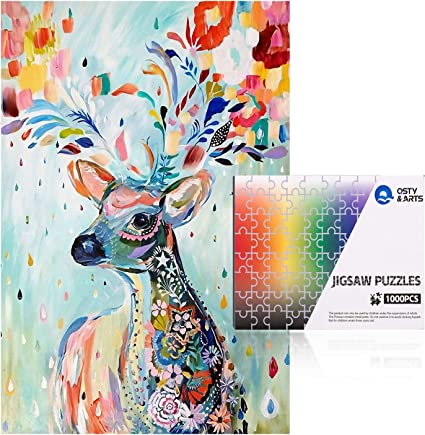 1000 Pieces Jigsaw Puzzles For Adult Kids Children Game Toy Home Decoration