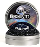 Crazy Aaron's Thinking Putty, 3.2 Ounce, Cosmic Star Dust