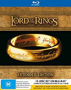 The Lord Of The Rings: Trilogy (Extended Editions) (15 Discs) (Blu-ray)