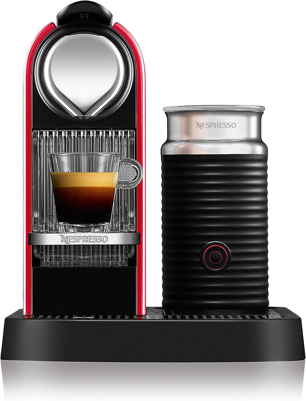 Nespresso Citiz Milk XN 7605PR4, cafetera de cápsulas, 19 bares ...