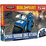 Warhammer 40k Build+Paint Space Marine Bike Attack