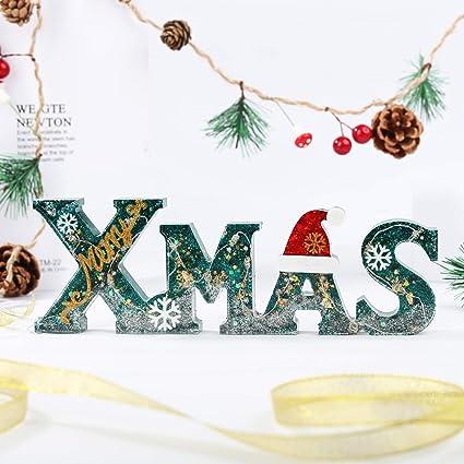 LETS RESIN Xmas Silikonform Gie/ßform brief epoxidharz formen Silikon Harzform f/ür die Herstellung von Dekoration Weihnachten