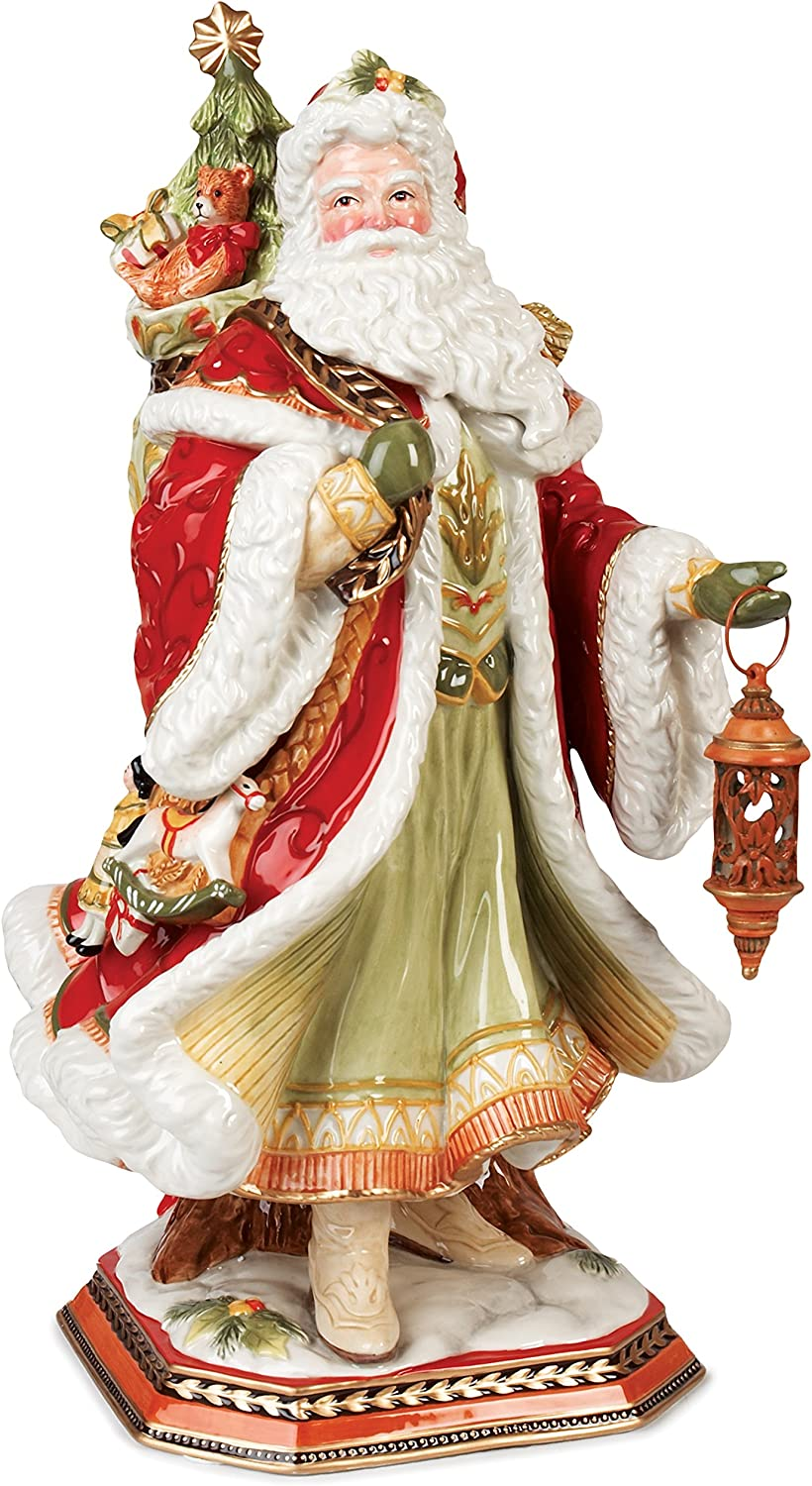 Fitz And Floyd Christmas 2021 Amazon Com Fitz And Floyd Damask Holiday Collectible Figurine 19 Inch Muli Colored Home Kitchen