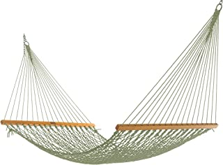 product image for Nags Head Hammocks NH11MDWSingle Meadow DuracordRope Hammock with Free Extension Chains & Tree Hooks, Handcrafted in The USA, Accommodates 1 Person, 450 LB Weight Capacity, 12 ft. x 49 in.