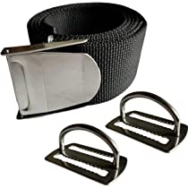 """Spearfishing Scuba Free Diving Heavy Duty Weight Belt Buckle 2/"""" Square"""