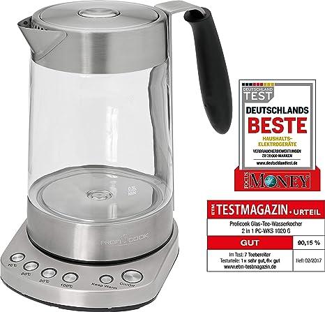 ProfiCook PC WKS 1020 G Tee Wasserkocher 1.7 Liter