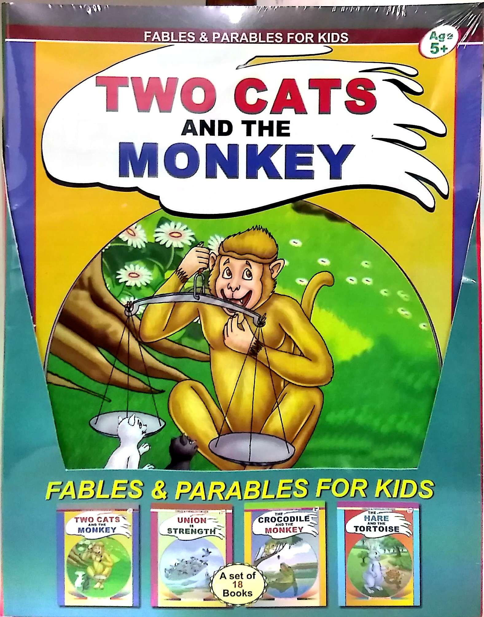 buy fables u0026 parables for kids a set of 18 books book online at