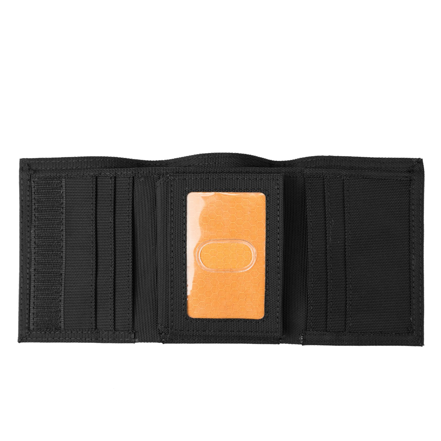 Timberland PRO Men's Cordura Velcro Nylon Rfid Trifold Wallet with ID Window, Black, One Size by Timberland PRO (Image #2)