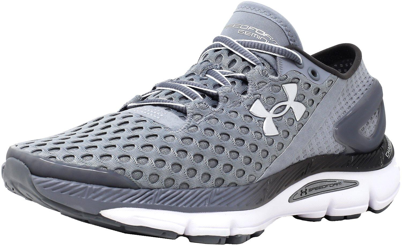 Under Armour Women's UA Speedform B018EYBHU0 Gemini 2.1 Running Shoes B018EYBHU0 Speedform 6 B(M) US Steel/White/Metallic Silver d82078