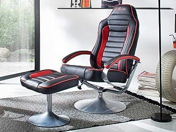 Lese Sessel relaxsessel lesesessel sessel relaxstuhl tv sessel mit hocker mc