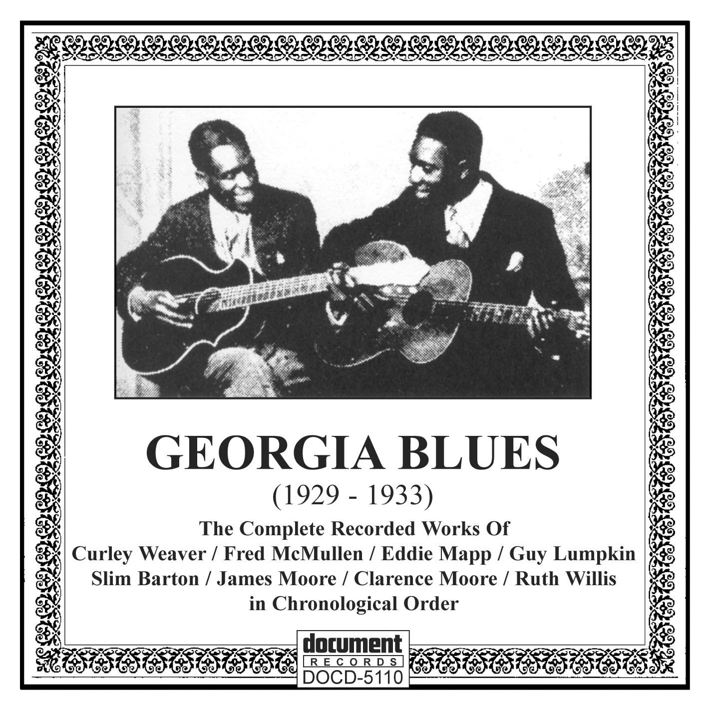 Georgia Blues 1928-33 New Ranking TOP13 mail order