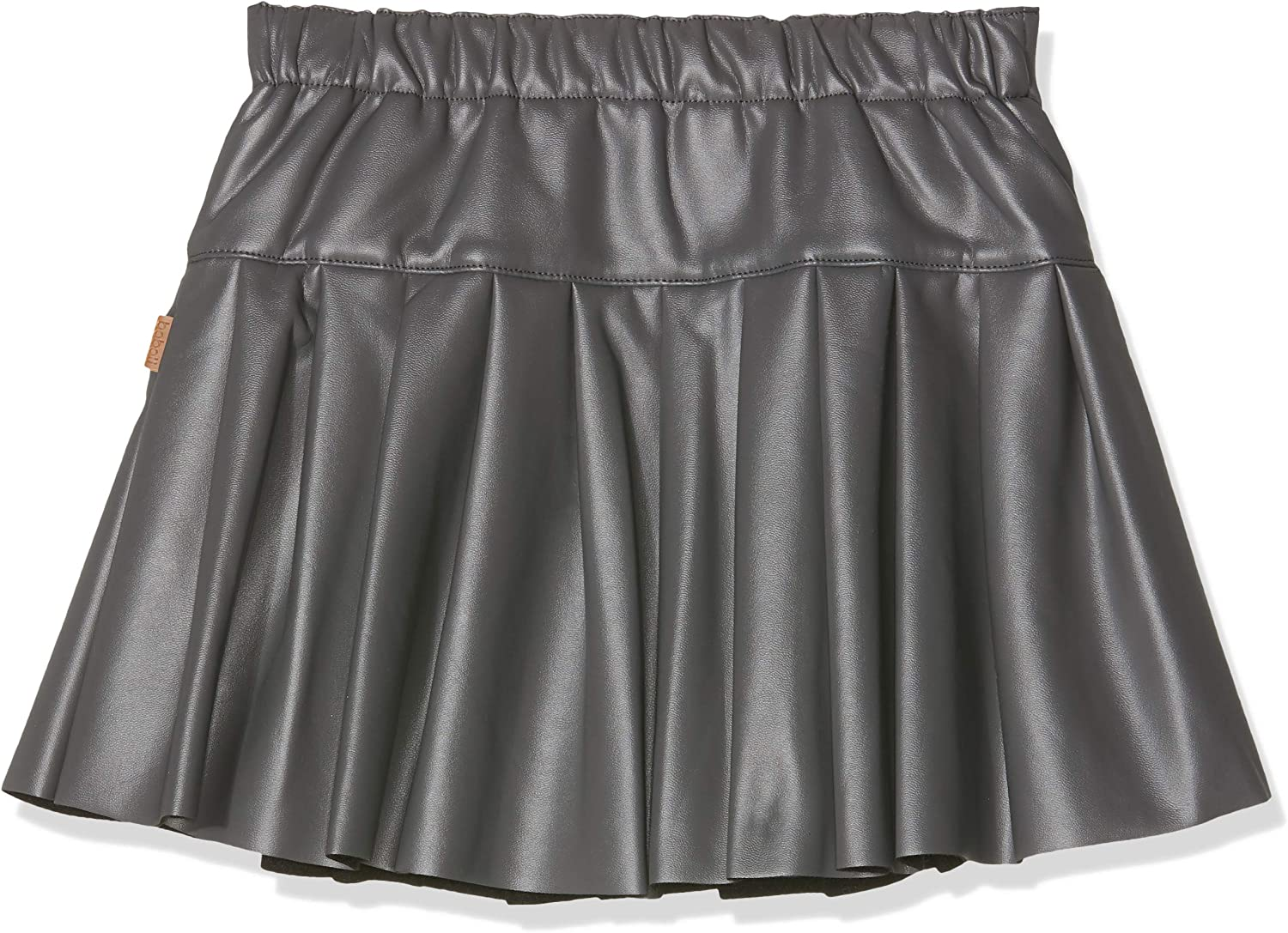 boboli Synthetic Leather Skirt For Girl, Falda para Niñas, Gris ...