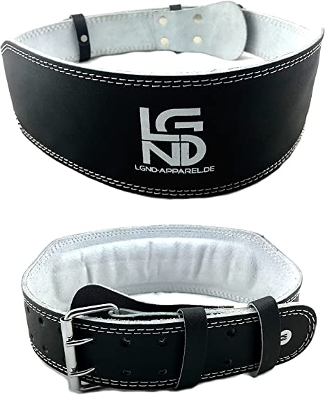 Back Weightlifting Belt Olympic Lifting 6 Inch for Men and Women Crossfit
