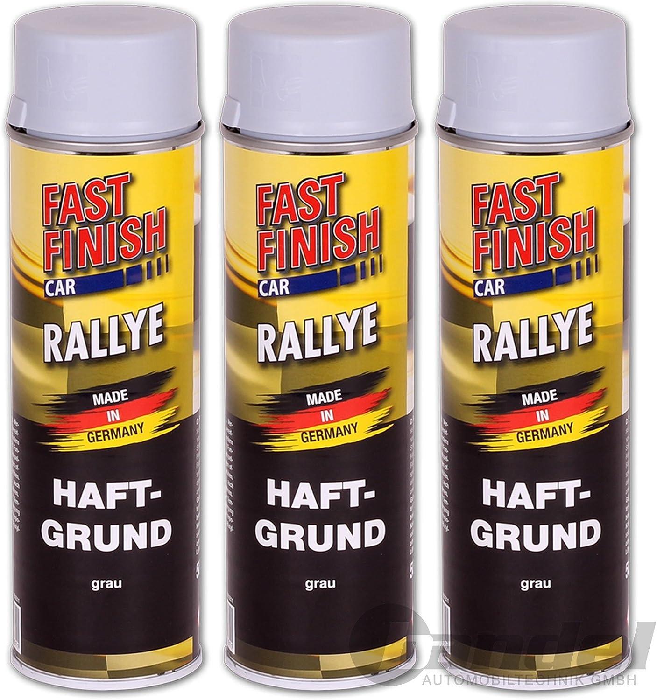 Fast Finish Car Rallye 1k Haftgrund Grau 3 X 500 Ml 292811 3 Auto