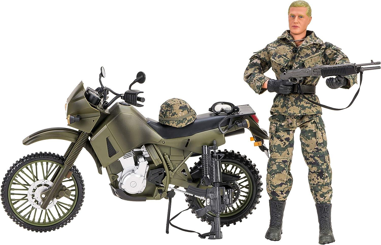 World Peacekeepers Hombres Figuras de acción con Humvee® de automóviles | 30,5cm Alto | 1: 6 Escala | Soldados del ejército de Combate con Accesorios | Destinado a niños y Adultos: Amazon.es: Juguetes y juegos