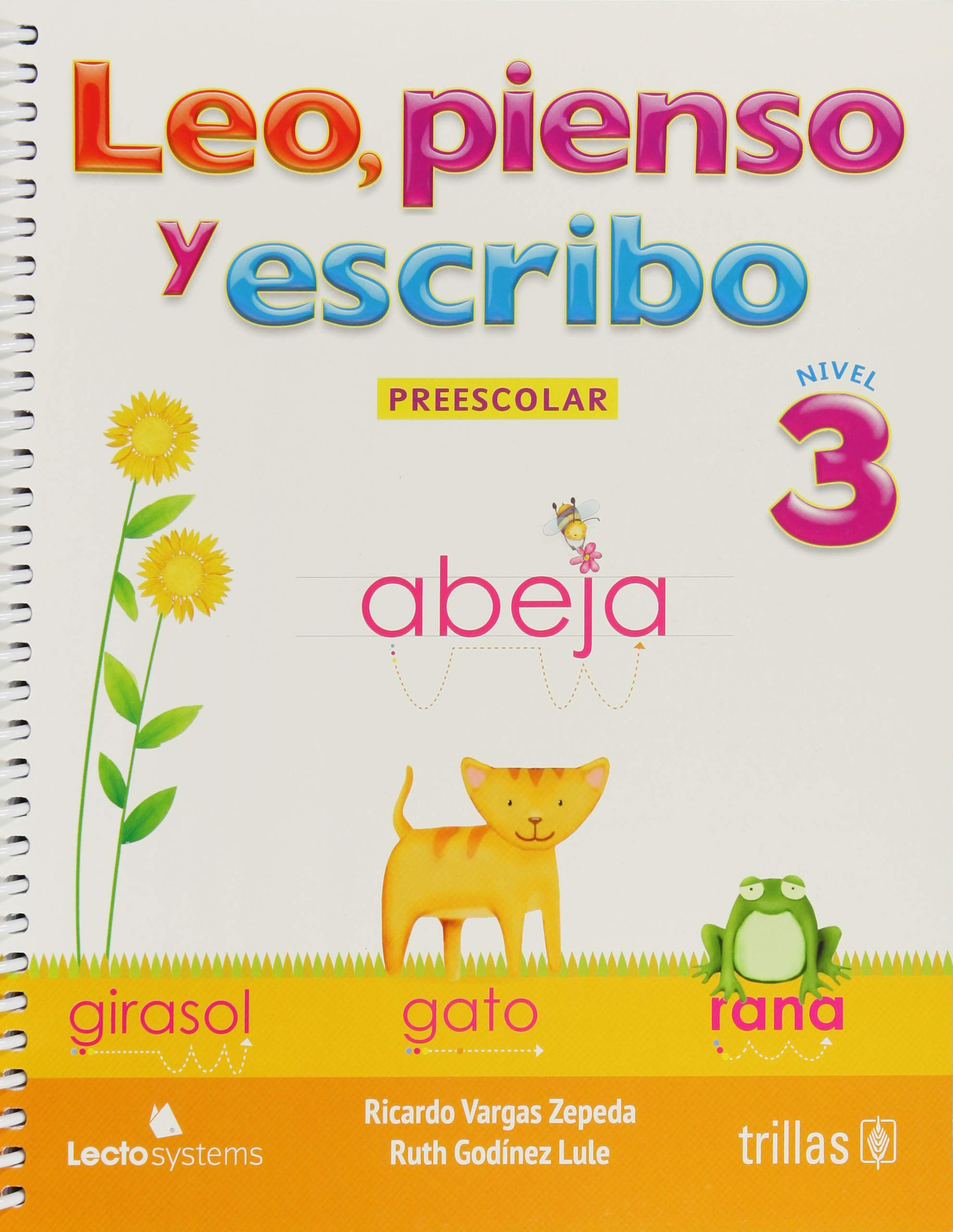 Leo, pienso y escribo / Read, think and write: Nivel 3 De Preescolar / Preschool Level 3 (Spanish Edition) (Spanish) Paperback – July 25, 2013