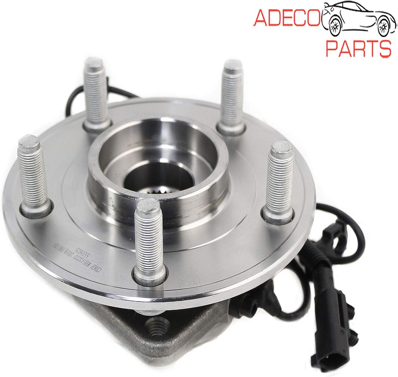 AdecoAutoParts/© 513272 Front Wheel bearing Hub assembly for Jeep Wrangler 2007 2008 2009 2010 HA590242 BR930612