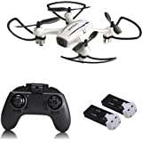 Cellstar RC Helicopter Drone H816H with Altitude Hold and A Key 3D Rolling 2.4 Ghz 6-Axis Anti-impact Gyro Quadcopter with Extra Battery for Kids or Beginners
