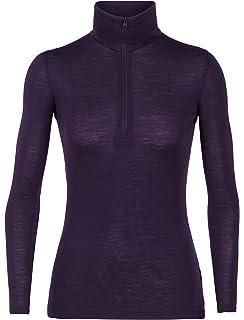 ef53b3f2970 Icebreaker Merino Women's Everyday Midweight Base Layer Half Zip Pullover  Top, Merino Wool