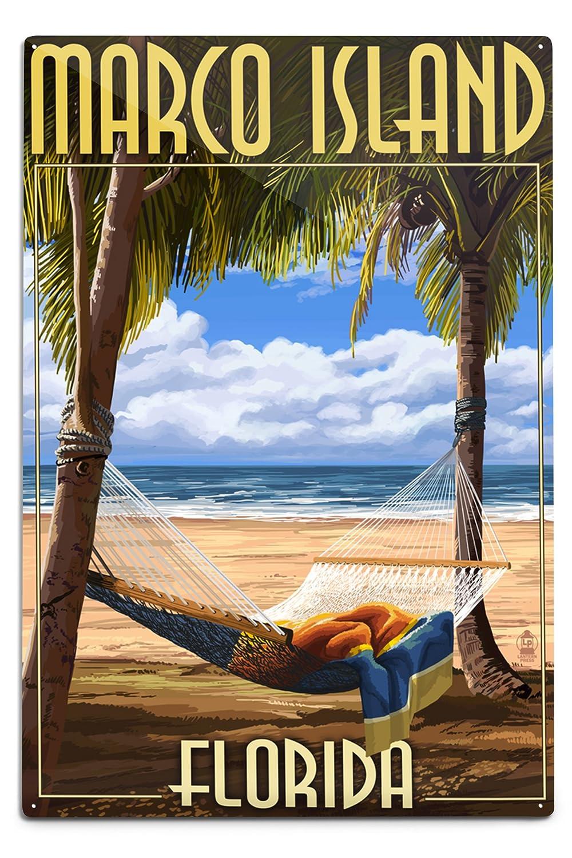 【人気沸騰】 Marco島、フロリダ州 12 – ハンモックシーン 12 x Metal 18 Metal Sign Sign LANT-42857-12x18M B06XZZ1KMD 12 x 18 Metal Sign, ニシクニサキグン:111ada85 --- mcrisartesanato.com.br
