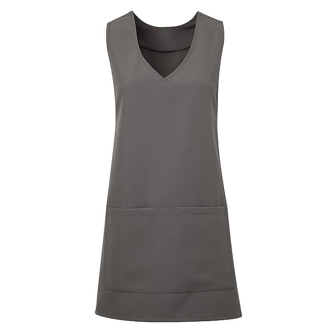 3ead120e239 Premier Womens/Ladies Wrap Around Tunic Apron at Amazon Women's Clothing  store: