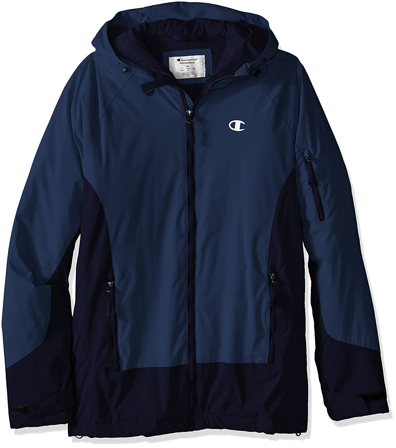 Champion Mens Men's Technical Ripstop Ski Jacket Hood Champion Mens Outerwear CH4001RS
