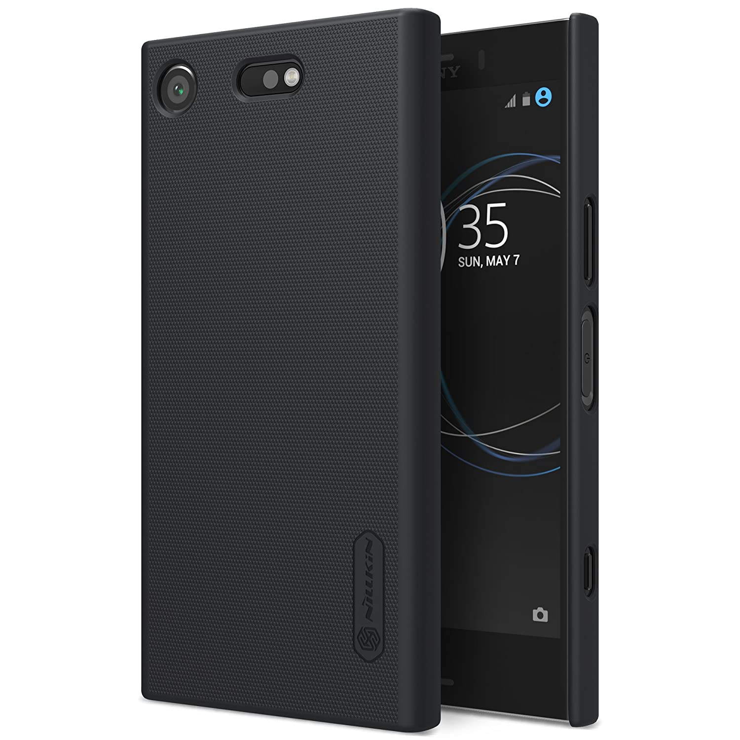 separation shoes cee93 5f62d Nillkin Sony Xperia XZ1 Compact Case, Frosted Shield Non Slip Matte Surface  Hard Case Back Cover For Sony Xperia XZ1 Compact (Only for XZ1 Compact ...