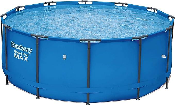 Bestway Steel Pro MAX - Piscina de una Sola Estructura, Color Azul: Amazon.es: Jardín