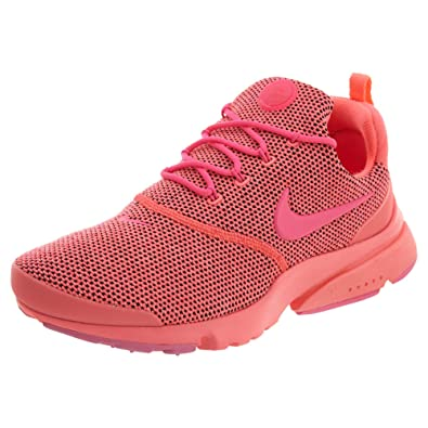 best service a4a0f ece79 Nike Women's Presto Fly SE Running Shoe (9 B(M) US, Hot Punch/Pink Blast)