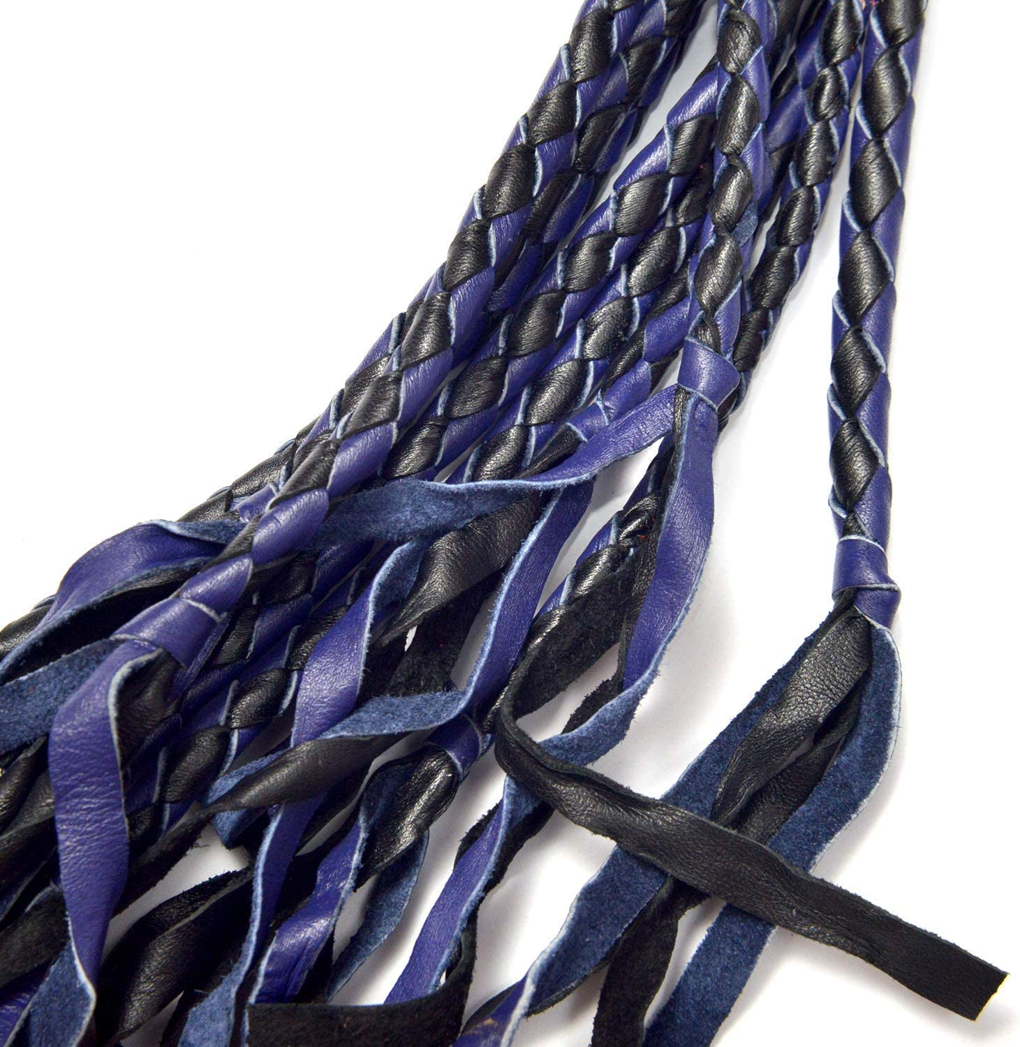 Horse /& Bull Sturdy Training Whip Handmade Genuine Leather Whip BARE SUTRA Flogger Heavy Duty Cow Hide Leather Plait Weave Handle with Wrist Wrap Animals Cattle Flogger