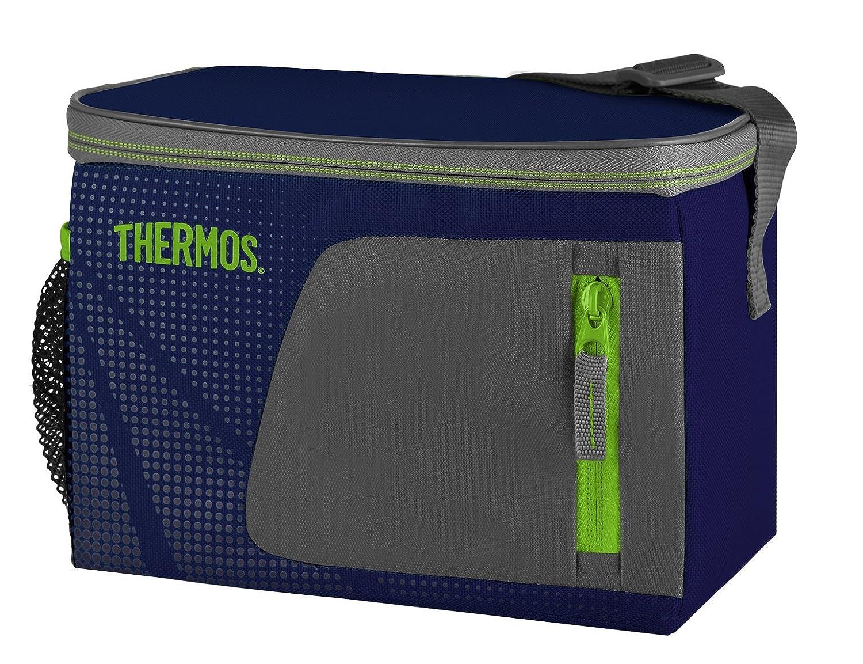Thermos Radiance - Bolsa térmica (capacidad para 6 latas, 3.5 L), color azul: Amazon.es: Hogar