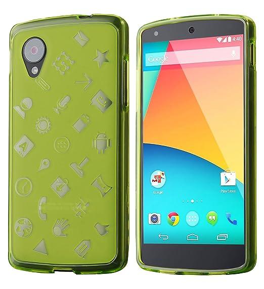 save off 4c242 78508 Nexus 5 Case, Cruzerlite Experience TPU Case (EXP Case) Compatible for LG  Nexus 5 - Green