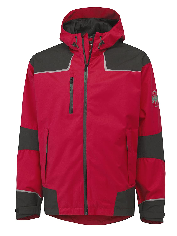 Helly Hansen Workwear メンズ チェルシー 防水 シェルジャケット B00OLODW7Y M|レッド/チャコール レッド/チャコール M