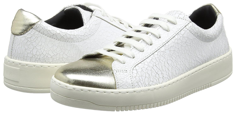 Damen 0137 Sneakers EuSchuhe FlachWeißblanc Ikks ARL45j