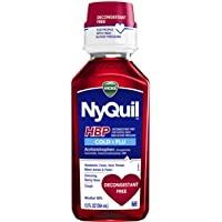 Vicks NyQuil Cough Cold & Flu Relief for High Blood Pressure