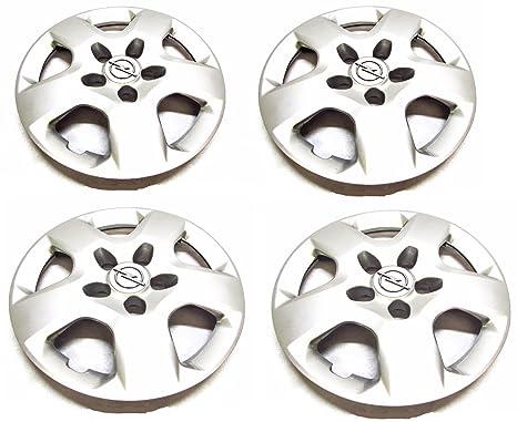 Accesorio Original - Juego de 4 Tapacubos Opel Vivaro 93855677 Llanta 16 Pulgadas