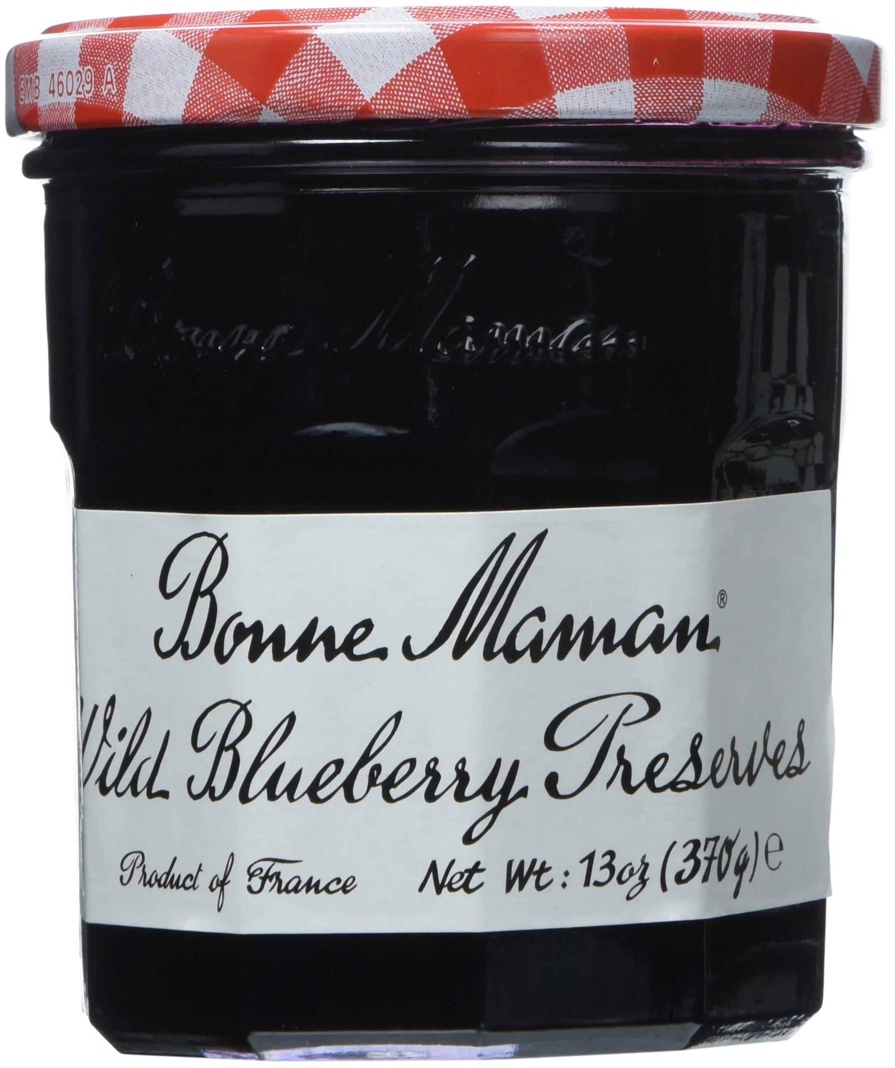 Bonne Maman Preserve, Blueberry, 13-Ounce