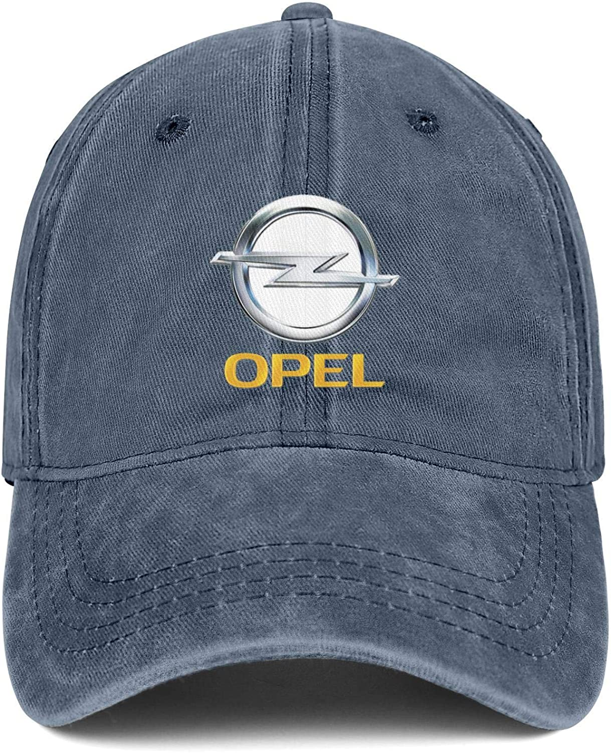 Mens Women Washed Ball Opel Cap Twill Adjustable Snapback Beach Hat One Size