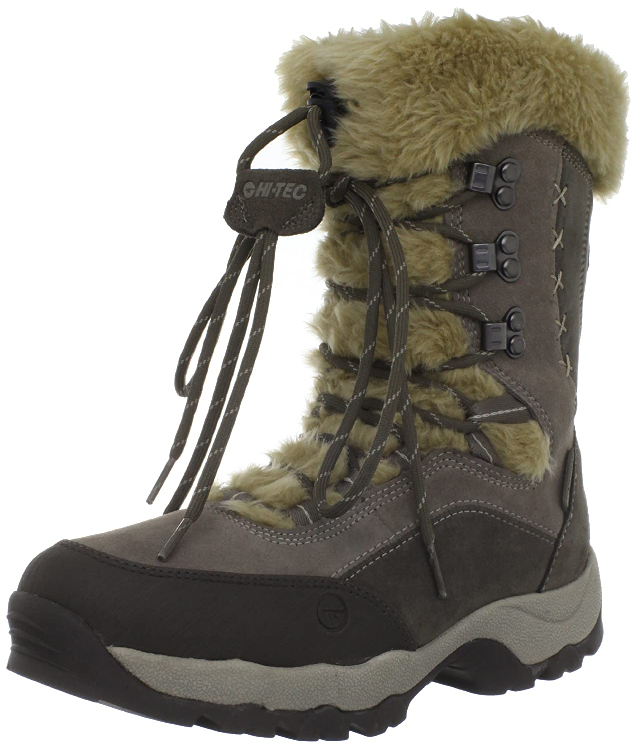 Hi-Tec Women's St Moritz 200 Insulated Boot B0071N0DG0 11 B(M) US|Olive/Taupe/Stone
