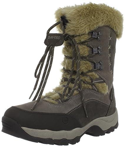 Best Quality Hi Tec St Moritz 200 WP II Womens Olive Taupe Stone boots LHGz D5e7