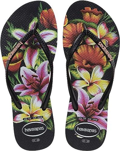 Havaianas Womens Slim Floral Sandal Flip Flop