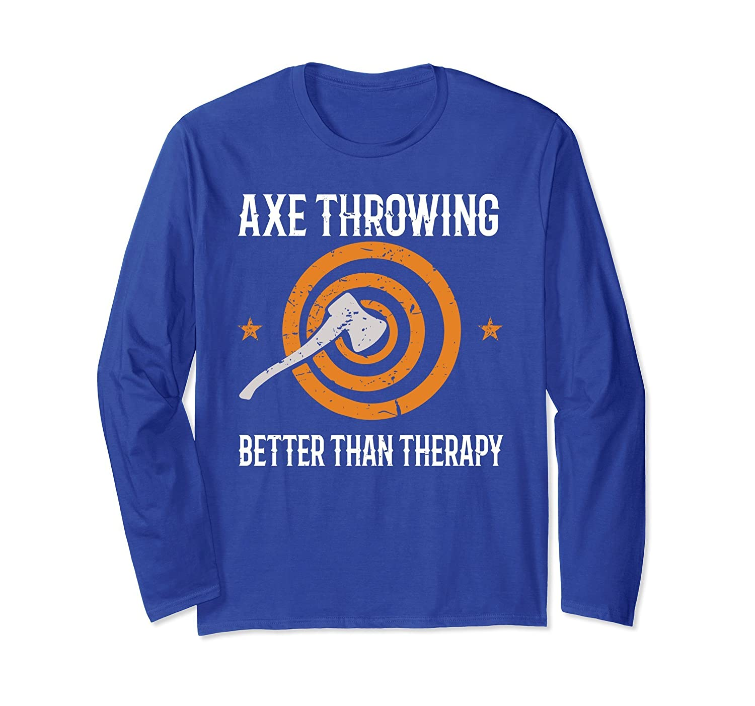 Axe Throwing Better Than Therapy Axe Sport Humor T-Shirt- TPT