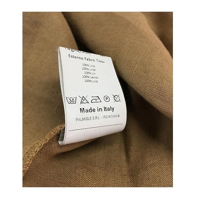Dettagli su BKØ linea MADSON camicia uomo collo coreano DU18045 100% lino MADE IN ITALY