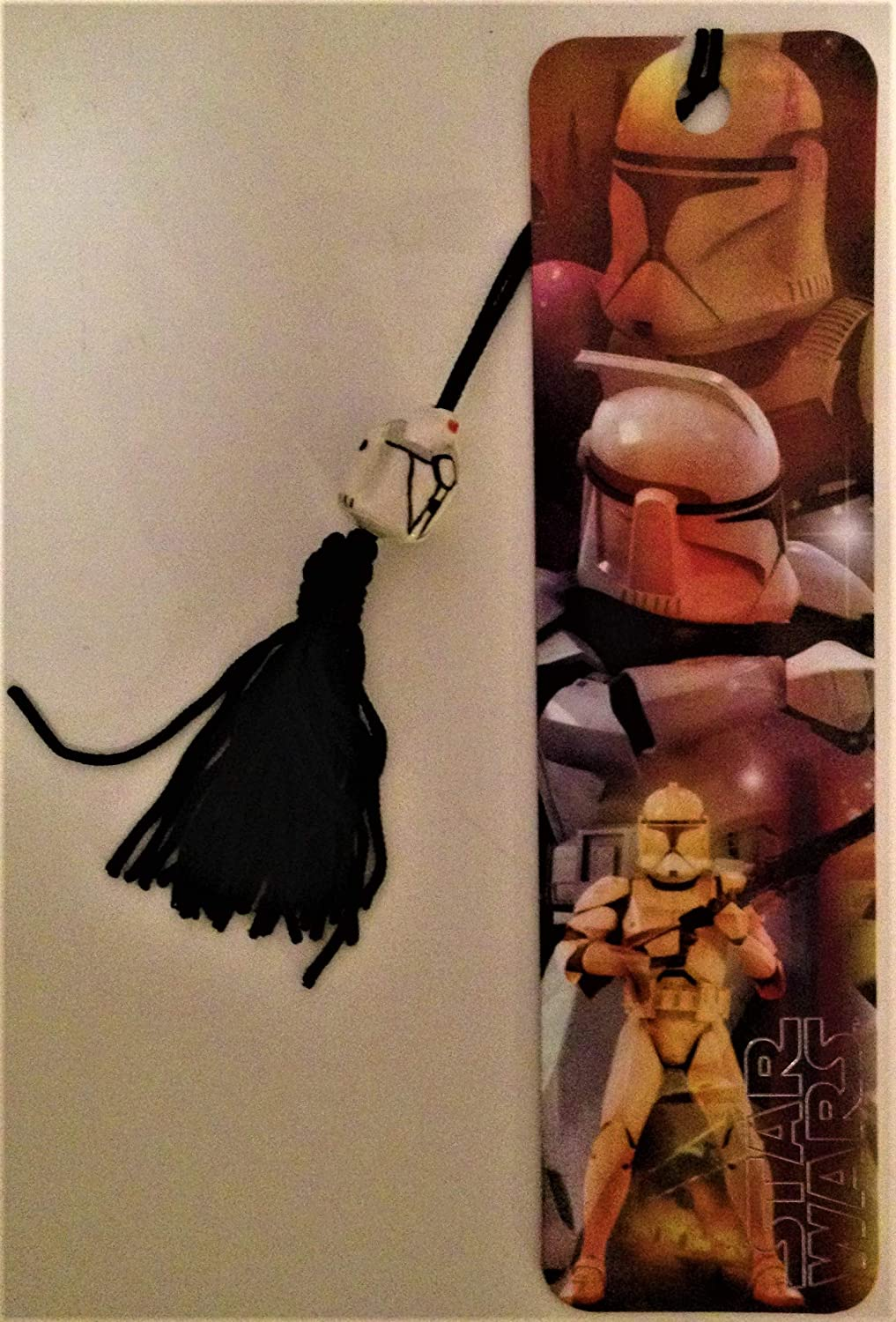 Star Wars Antioch 2002 Attack of the Clones Beaded Bookmark Clone Troopers