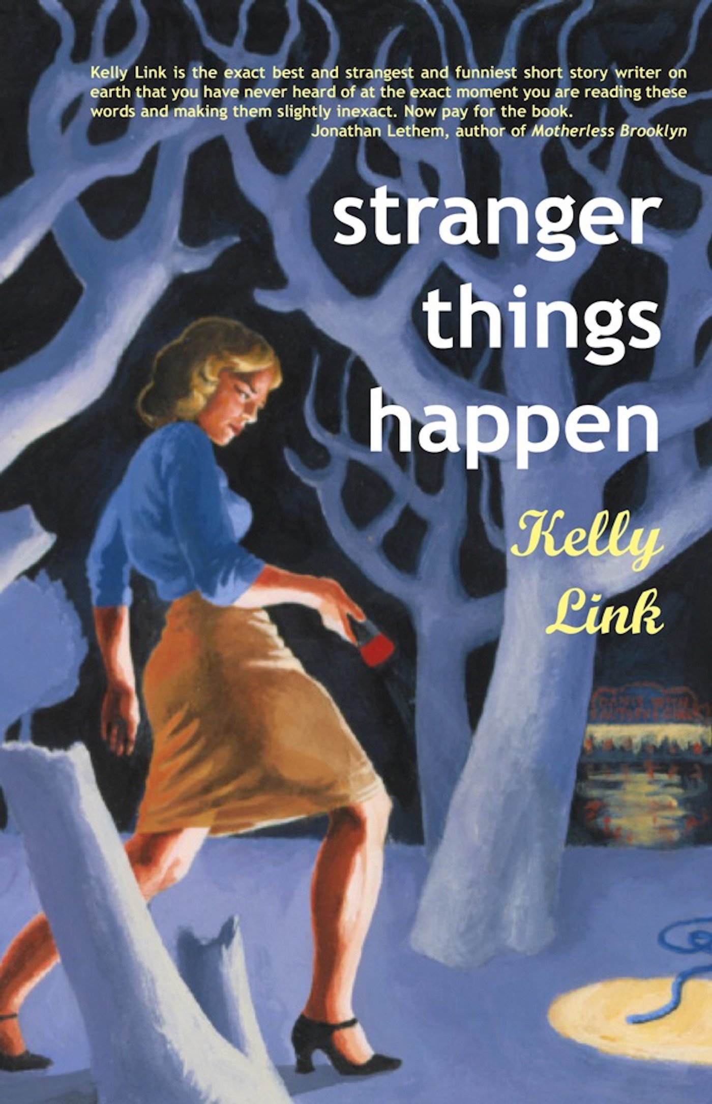 Stranger Things Happen: Stories: Kelly Link: 9781931520003: Amazon:  Books